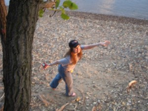 Image is of me back in 2010, pretending to fly. Let's pretend I'm a superhero, k?